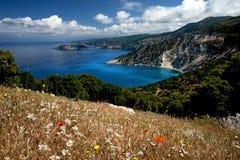 Весеннее время, Kefalonia, Греция Стоковое Фото