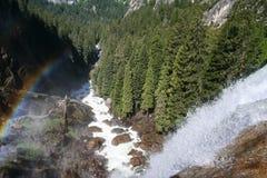 Весенние падения, Yosemite Стоковое Изображение RF