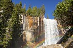 Весенняя радуга падений Стоковые Изображения RF