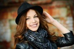 Веселая молодая женщина Стоковое фото RF