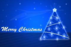 Веселая предпосылка Christmass Иллюстрация вектора