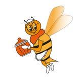 Веселая пчела бабушки Стоковое Изображение