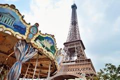 Весел-идти-кругло в Париже Стоковое фото RF