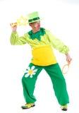 Веселый клоун Стоковая Фотография RF