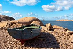 Весельная лодка Стоковая Фотография RF