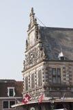 Весить дом Алкмара в Нидерландах Стоковое Изображение