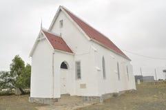 Веслианская церковь Orthodist - старое здание в Klipplaat стоковое изображение