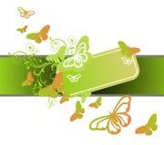 весна абстрактных бабочек предпосылки флористическая иллюстрация штока