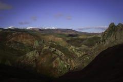 Весна в армянских гористых местностях стоковое изображение