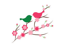 Весна в влюбленности Стоковые Изображения RF