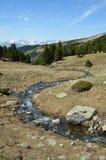 Весна в долине Madriu-Perafita-Claror стоковая фотография rf