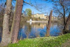Весна в Norrköping, Швеции стоковое изображение