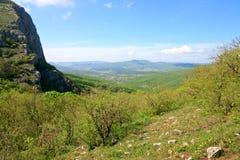 весна горы ландшафта страны стоковые фотографии rf