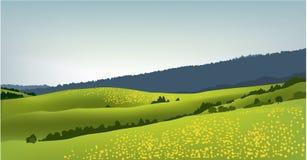 весна горы ландшафта бесплатная иллюстрация