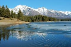 весна горы озера стоковое изображение rf
