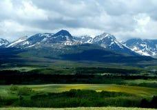 весна горы утесистая Стоковое Фото