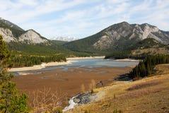 весна гор озера утесистая Стоковые Изображения RF