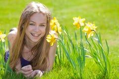 весна дня счастливая стоковое фото