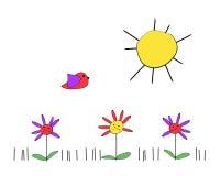 весна дня Стоковое Фото