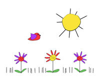 весна дня иллюстрация штока