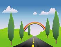 весна дороги ii иллюстрация штока