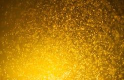 Весна золота или предпосылка лета Элегантные абстрактные wi предпосылки Стоковое Изображение RF