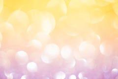 Весна золота или предпосылка лета Стоковые Фотографии RF