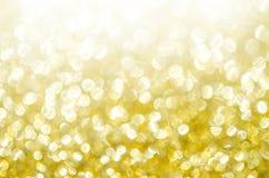 Весна золота или предпосылка лета Стоковая Фотография RF