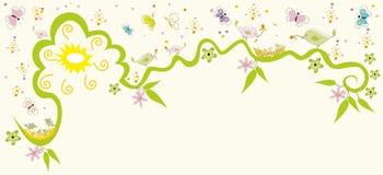 весна картины золота Стоковое фото RF