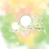 весна карточки красотки Стоковая Фотография