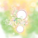 весна карточки красотки Стоковое Изображение