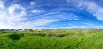 весна ландшафта дня солнечная Стоковые Фото