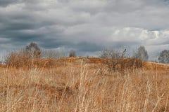 Весна ландшафта предыдущая в горах стоковое изображение