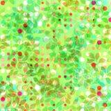 весна листьев предпосылки Стоковая Фотография RF