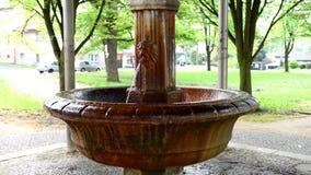 Весна минеральной воды Antonius - Marianske Lazne видеоматериал