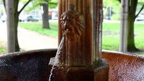 Весна минеральной воды Antonius - Marianske Lazne акции видеоматериалы