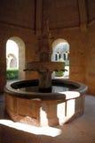 весна монастыря средневековая Стоковая Фотография