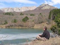 весна озера Стоковые Изображения