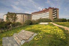 весна парка зданий Стоковые Фотографии RF
