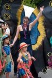 весна парка парада ga празднества atlanta inman Стоковые Фотографии RF