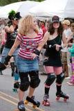 весна парка парада Georgia празднества atlanta inman Стоковая Фотография