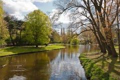 весна парка Стоковая Фотография