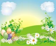 весна пасхи состава карточки Стоковое Фото