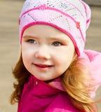весна портрета девушки дня немного outdoors Стоковые Фото