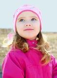 весна портрета девушки дня немного outdoors Стоковые Изображения