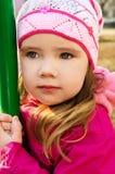 весна портрета девушки дня немного outdoors Стоковое фото RF