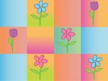 весна предпосылки безшовная Стоковые Изображения RF