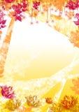 весна предпосылки флористическая Стоковая Фотография RF