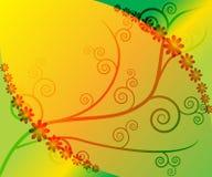 весна предпосылки флористическая Иллюстрация вектора