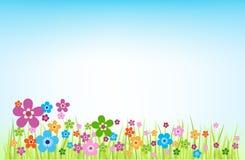 весна предпосылки иллюстрация штока